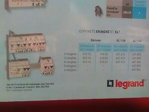 LEGRAND 05009  dispositif de raccordement - peigne vertical et inter. diff 63A