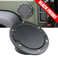 Tapa de la puerta de llenado de combustible para 07-16 Jeep Wrangler JK negro