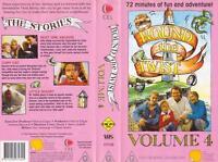 ROUND THE TWIST VOLUME 4 VHS VIDEO PAL RARE FIND AUSTRALIAN CHILDRENS TELEVISON