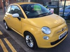 2015 15  REG FIAT 500 THERAPY STOP/START AUTOMATIC YELLOW  VERY LOW MILES