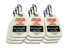 Dynotag Web/GPS Enabled QR Code Smart Micro Zipper Tags: 9 (3x3... Free Shipping