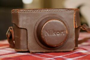 Nikon S 35mm Film Rangefinder CASE ONLY, Nippon Kogaku, PLEASE SEE PICS
