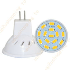 1 PACK AC/DC12V 3W MR11 Bulb-35W Equi-Warm White Daylight LED Spotlight-GU4 Base