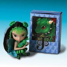 Opal Matchbox Jasmine Becket-Griffith Fairy Figurine Dragonling Ashton Drake