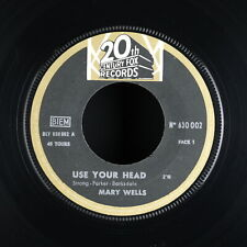 MARY WELLS - Use Your Head - 1965 France SP 45 tours