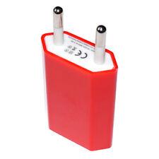 Ladegerät Netzteil Stecker für iPhone 5 6 7 Samsung S3 4 5 6 7 HTC Nokia in Rot