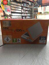 Console New Nintendo 2DS XL Bianco Arancione NUOVA SIGILLATA