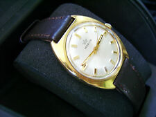 MARVIN SEA STAR TOP CONDITION ViNTAGE SWISS MECHANICAL MEN'S WATCH GOLD-PLATED