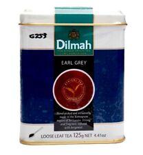 CEYLON TEA DILMAH EARL GREY LOOSE LEAF TEA - 125g