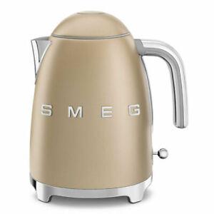 SMEG KLF03CHMUK 50's Retro3000 Watt Kettle Limescale Filter - 1.7 L - Matte Gold