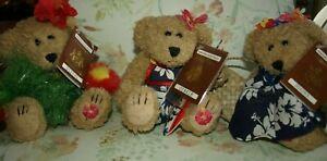 Three Bearfoot Bears, Hawaiian Collectables