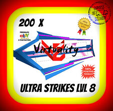 INGRESS 200 ULTRA STRIKES 8 US8 LVL8 level 8 US niantic FAST DELIVERY