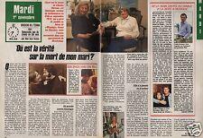 Coupure de presse Clipping 1988 Joyce et Charles Horman (2 pag) vérité mort mari