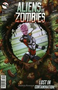 Aliens Vs. Zombies #3A VF/NM; Zenescope | save on shipping - details inside