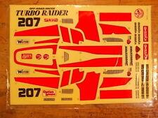 RD-25 Decal - Kyosho Turbo Raider