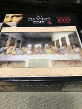 The DaVinci Code The Last Supper 1000 Piece Jigsaw Puzzle