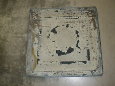 Antique Ceiling Tin-Tile #2-Vintage-Primitive--2x2 ft-Old Architectural-Original
