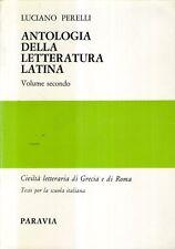 A9 Antologia della letteratura latina Vol. II Perelli Paravia