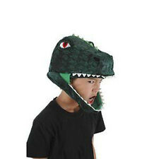 Green T-REX Dinosaur Costume Hat dragon monster gator dinosaur croc puppet