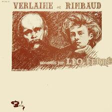 VERLAINE Et RIMBAUD Chantés par LEO FERRE FR Press Barclay 80 236/37 2 LP