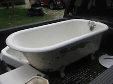 Antique Claw Foot Tub, Cast Iron