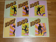 The Fabulous Fifties - Original 1977 UK vinyl box set only 6 of 10 LP's
