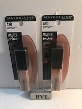 MAYBELLINE MASTER PRIME EYESHADOW BASE & MAT # 420 **LOT OF 2**