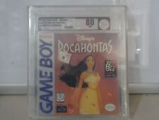 Disney's Pocahontas (Game Boy, 1996) H-SEAM SEALED! - VGA 80 NM - SUPER RARE!