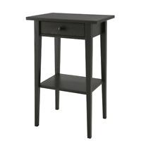 IKEA HEMNES Ablagetisch Nachttisch schwarzbraun [46x35 cm] Wohnzimmertisch