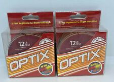 (2) CAJUN LINE OPTIX HI VIS/LOW VIS FISHING LINE - 12LB/300YDS