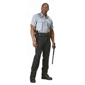Rothco 30045 Men's Grey Short Sleeve Uniform Shirt