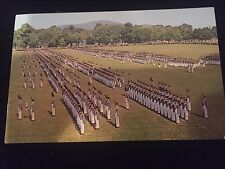 The Corps on Parade, West Point, New York, Postcard