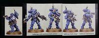 Warhammer 40K Primaris Infiltrators Squad B 5 Helix Grenade 2 Pistols Vanguard