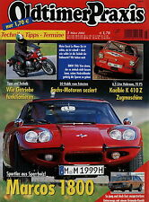 Oldtimer Praxis 2002 3/02 Kaelble K410Z Marcos 1800 Moto Guzzi Le Mans Granada