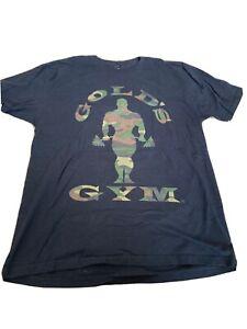 Gold's Gym Black Camo shirt Large