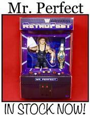 WWE Mattel Mr. Perfect Curt Hennig Retrofest Exclusive Elite Figure In Stock Now