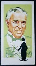 Charlie Chaplin   Silent Movie Star     Vintage Card   VGC
