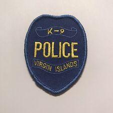 Virgin Islands Police Department k9 Unit Patch