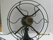 "Antique, Vintage, Original R&M, Robbins Meyer Desk Fan 10"", Black"