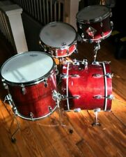 New ListingGretsch Usa Custom Vintage Tribute Bop drums Rosewood Curly Maple