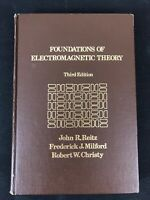 Foundations Of Electromagnetic Theory 3rd Edition 1980 - VG Condition