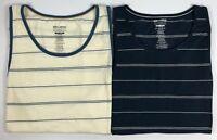 Men's Billabong Tailored Fit Die-Cut Striped Tank Top