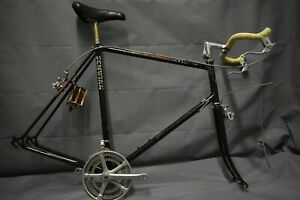Schwinn World Vintage Touring Road Bike Frame X-Large 63cm 1987 Steel US Charity