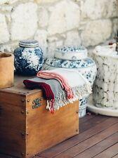 Karuna Turkish Cotton Peshtemal, Oversize Large Beach Throw, Stripe Tablecloth