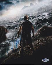 Russell Crowe Signed 8X10 Photo Noah Gladiator Beckett Bas Autograph Auto Coa A
