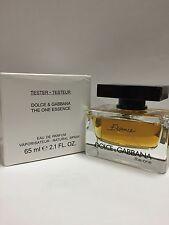 The One Essence Perfume by Dolce & Gabbana 2.1 oz EDP NIB Tester