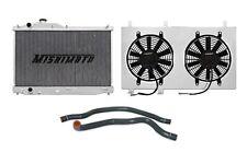 MISHIMOTO Radiator+Fan Shroud+Hose Kit Black 00-09 Honda S2000 S2K MT AP1 AP2