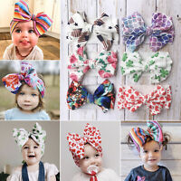 Cute Kids Girl Baby Headband Infant US Newborn Flower Bow Hair Band Accessories