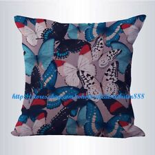 US SELLER- retro boho butterfly cushion cover decorative pillows for sofa