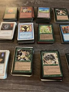Magic the Gathering Vintage Only Lots 1994-1998 Revised to Stronghold